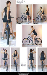 STOCK - Bicycle 1 by LaLunatique