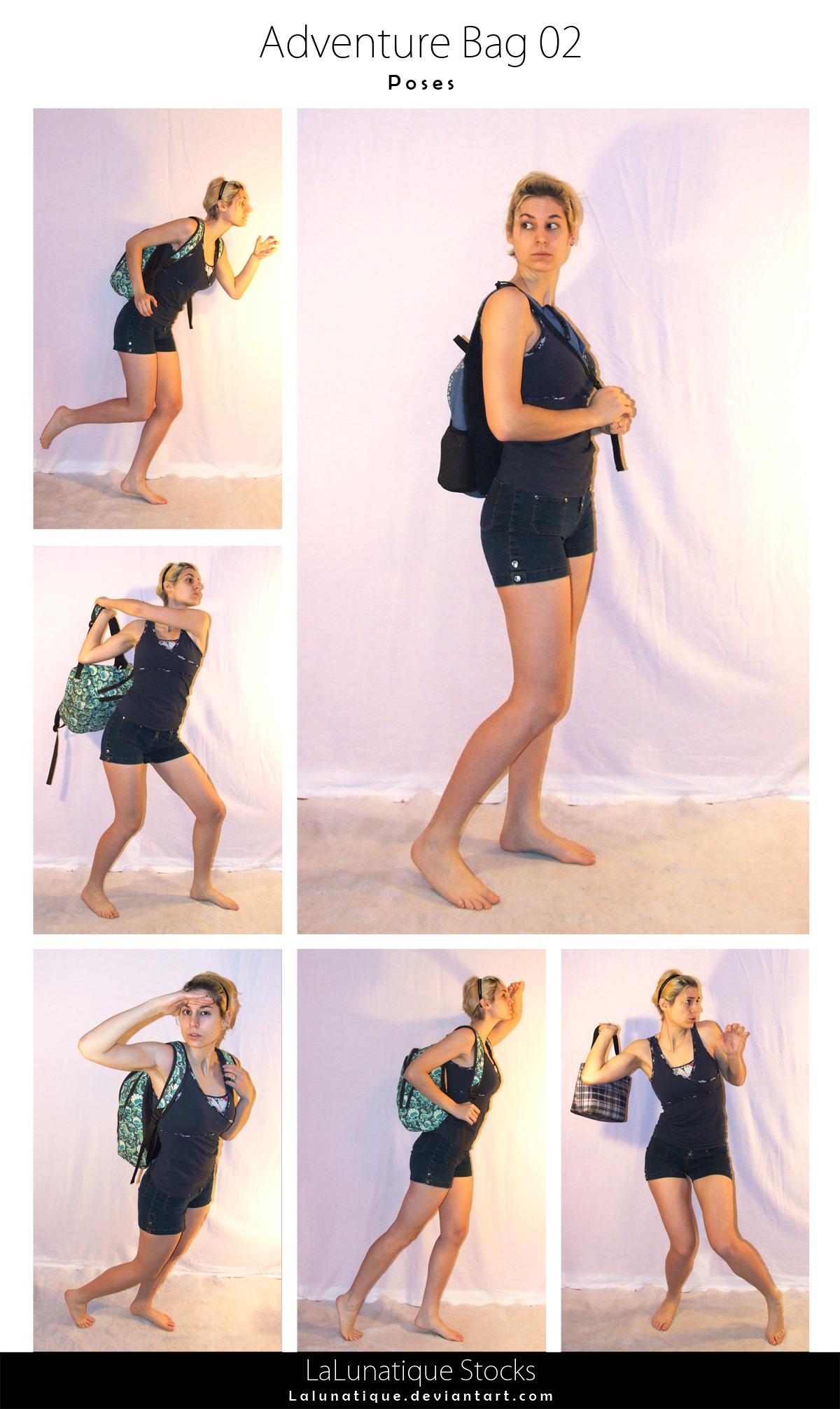 STOCK - Adventure Bag 02 by LaLunatique