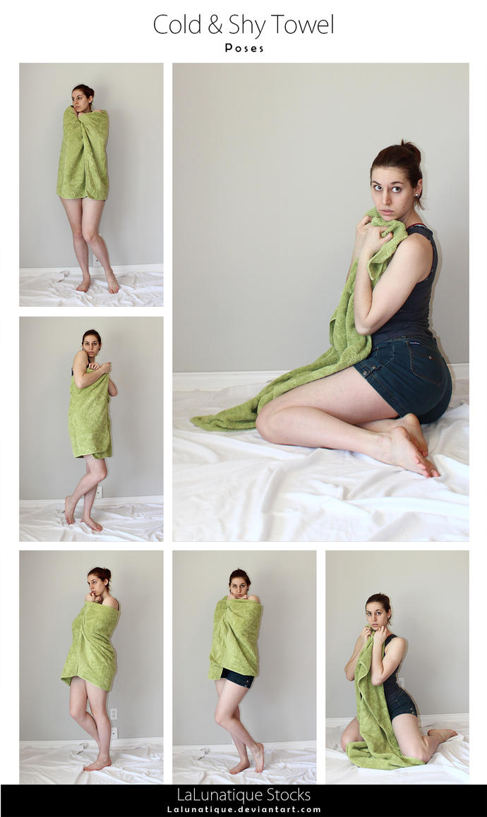 STOCK - Cold and shy Towel by LaLunatique on DeviantArt