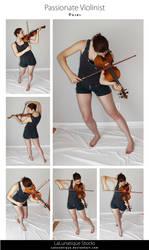 STOCK - Passionate Violonist by LaLunatique