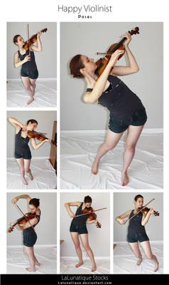 STOCK - Happy Violinist