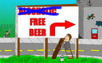 Alcoholic Free Beer
