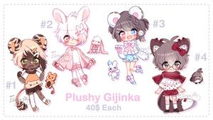 [CLOSED] Non-CS Adopts by Elissya-chan
