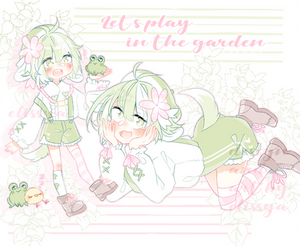 [CLOSED] Froggy Friend - Adoptable
