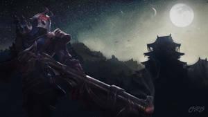 League of Legends Blood Moon Jhin Wallpaper by KPPOnline