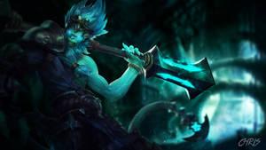 League of Legends Underworld Wukong  Wallpaper by KPPOnline