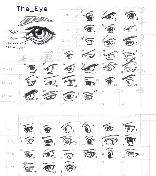 REFERENCE-Manga eyes