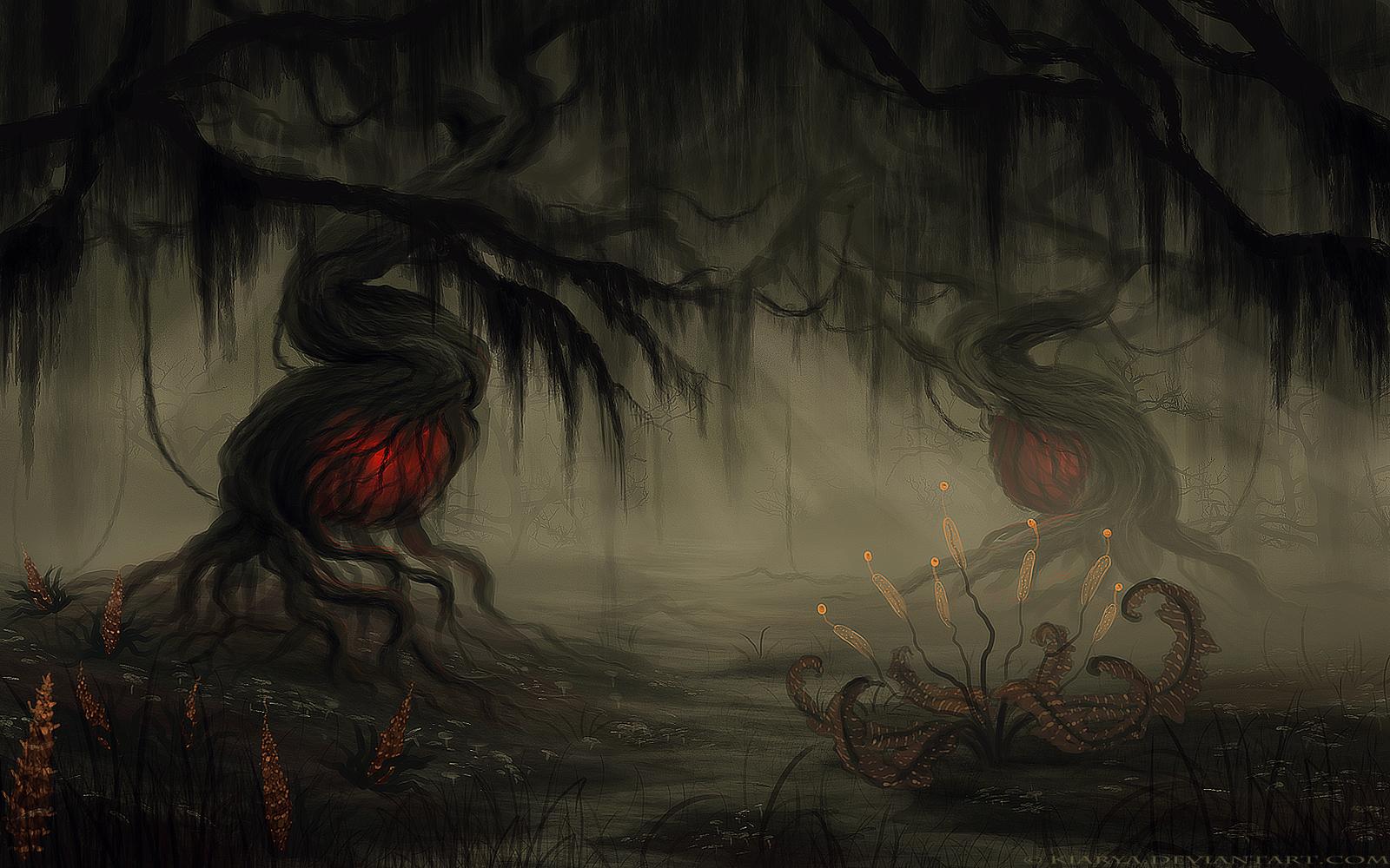 Planet Zapffe, The Swamp by Kiarya on DeviantArt