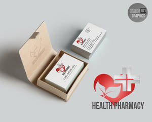Health pharmacy logo