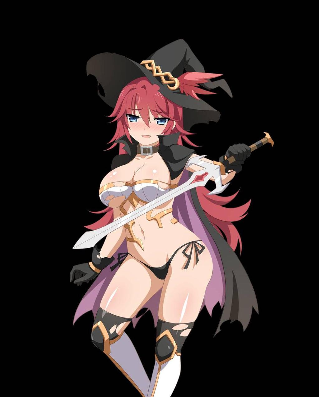 Sakura dungeon hentai anime rpg fantasy game trailer 5