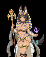Sakura Dungeon : Anubis by Leoheart7