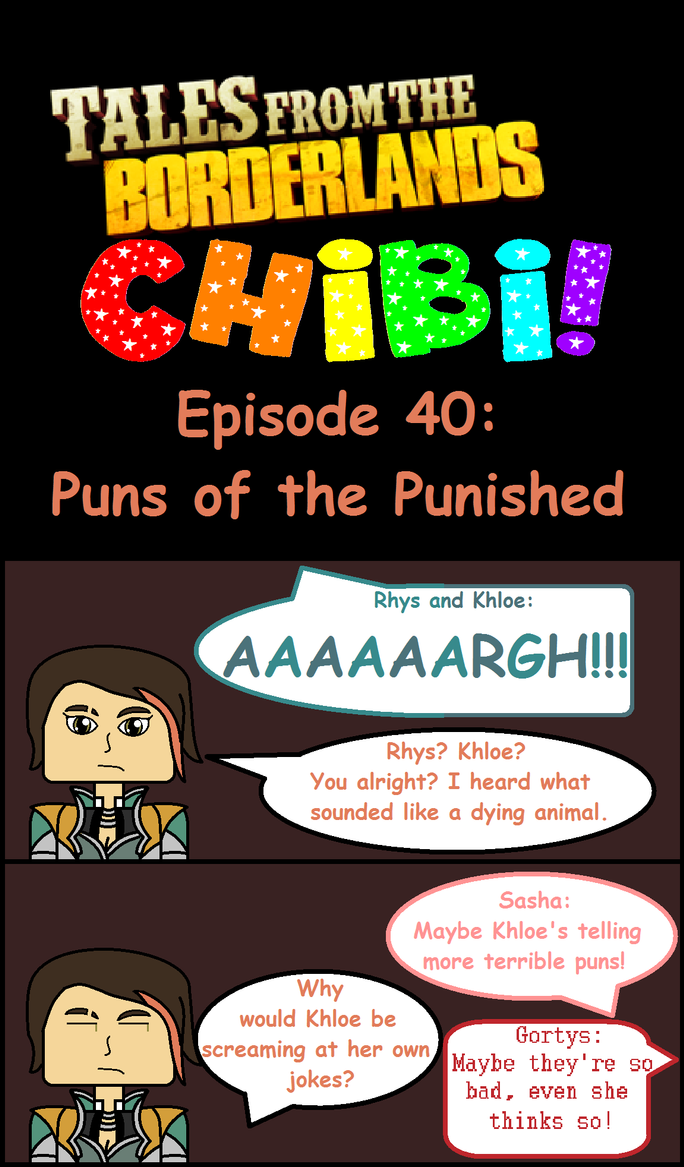 Tales From The Borderlands Chibi Episode 40 by jennycunningham2013