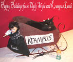Merry Xmas from Lamb and I