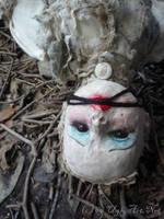 Blanket and Garden Art Doll by uglyshyla