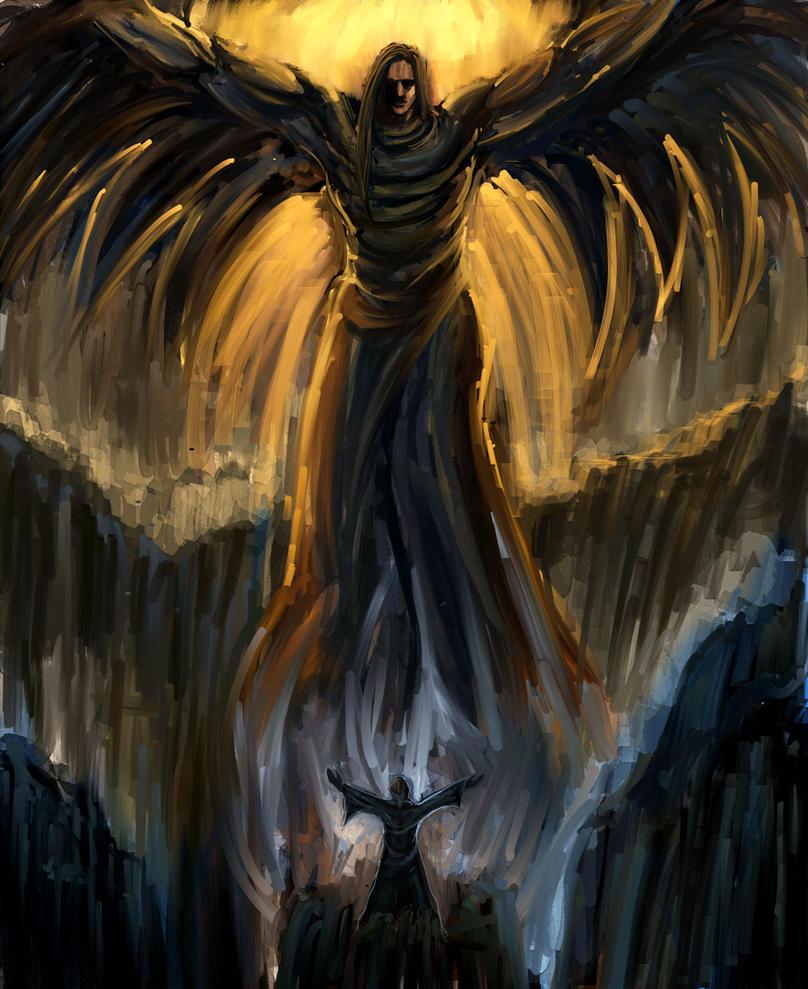 Archangel Gabriel by Gold-copper on DeviantArt