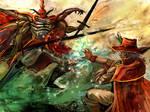 Galuf and Gilgamesh