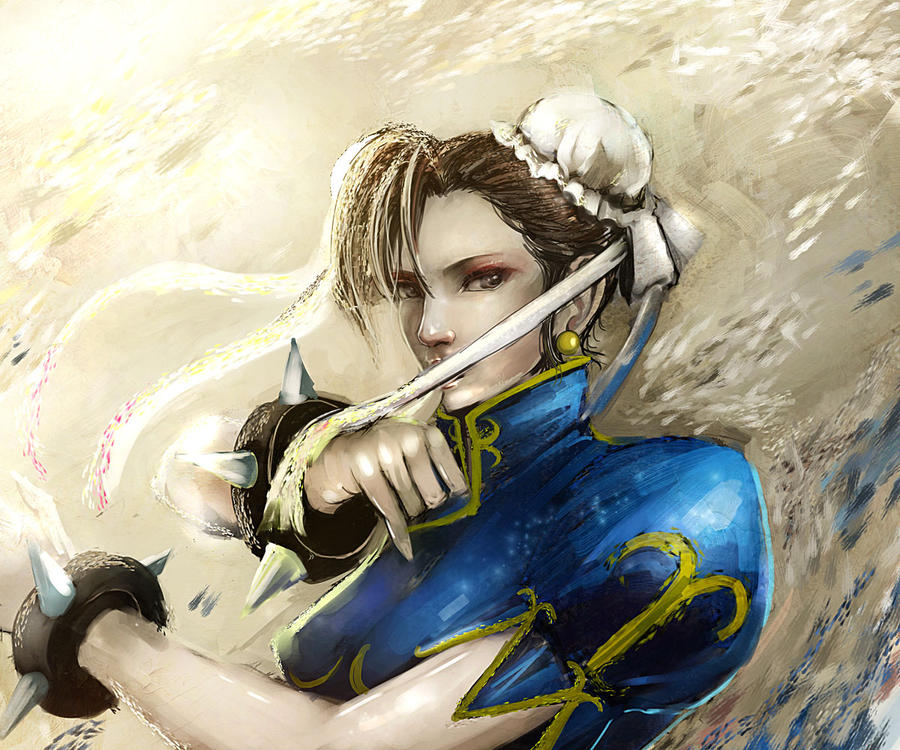 Chun-Li by Gold-copper
