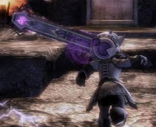 Asura Badass Sword by GuildWars2-SLO