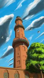 Minaret by Rahman2049