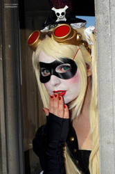 Harley Quinn Steampunk Version - Paula Vasquez by SeviYummy