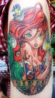 Ariel Tattoo by SeviYummy