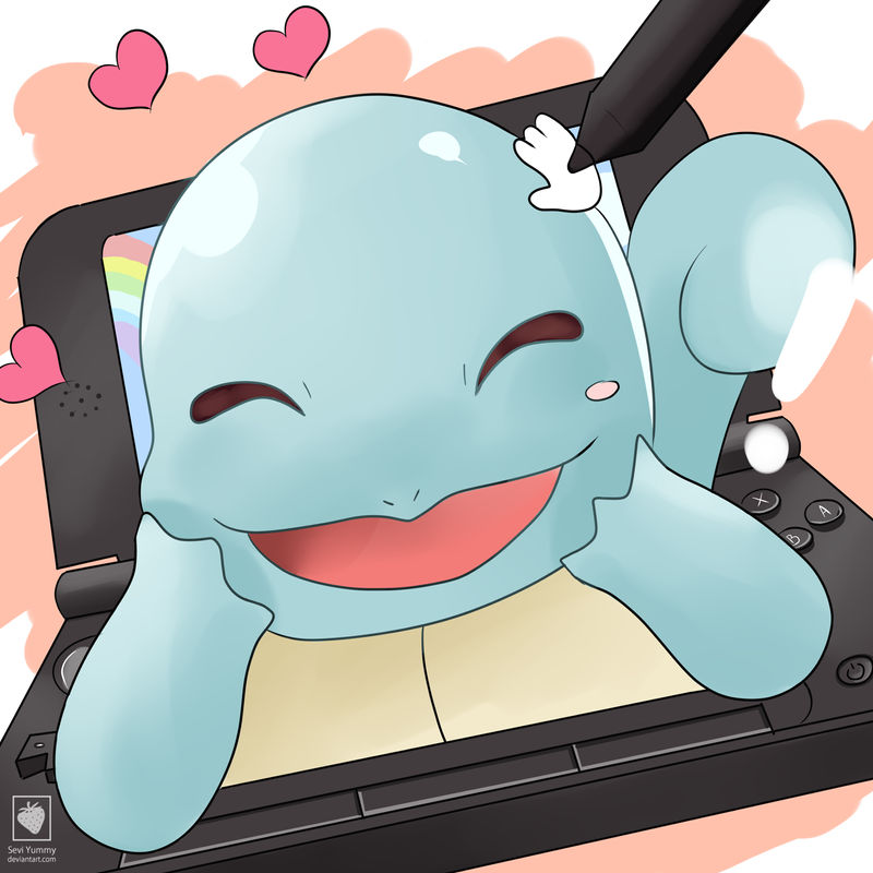 Squirtle Amie by SeviYummy