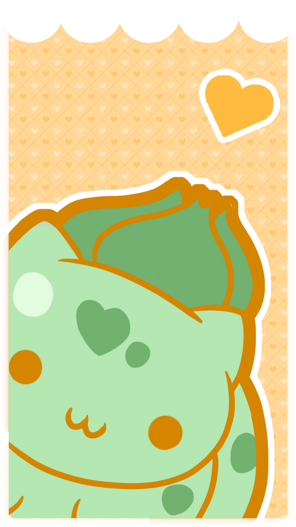 Bulbasaur Phone Wallpaper By SeviYummy