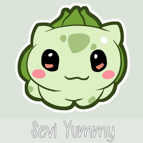 Chibi Bulbasaur by SeviYummy