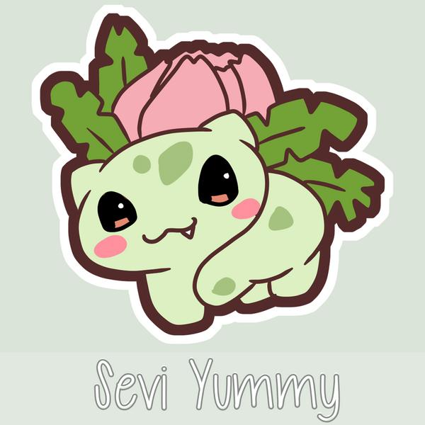 Chibi Ivysaur by SeviYummy