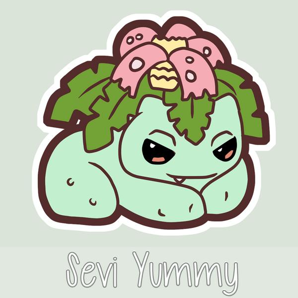 Chibi Venusaur by SeviYummy