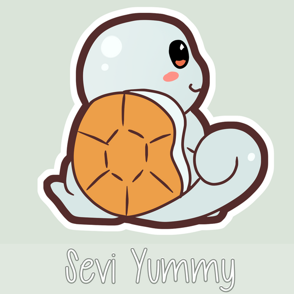 Chibi Squirtle by SeviYummy