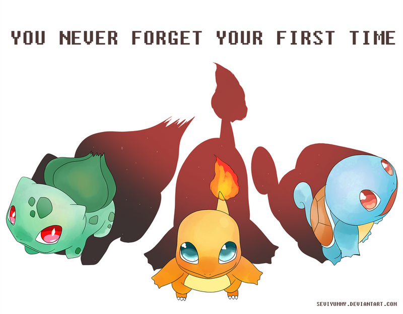 You never forget your first time by SeviYummy