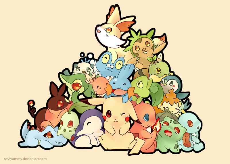 pokemon all starters pokemon