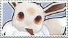 Shiny Eevee Stamp by SeviYummy
