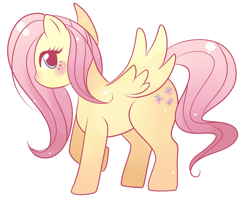 Fluttershy what makes you beautiful