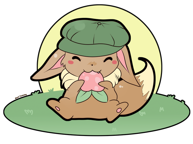 COMMISSION: Chibi Eevee by SeviYummy