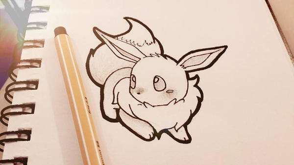 Eevee sketch by SeviYummy