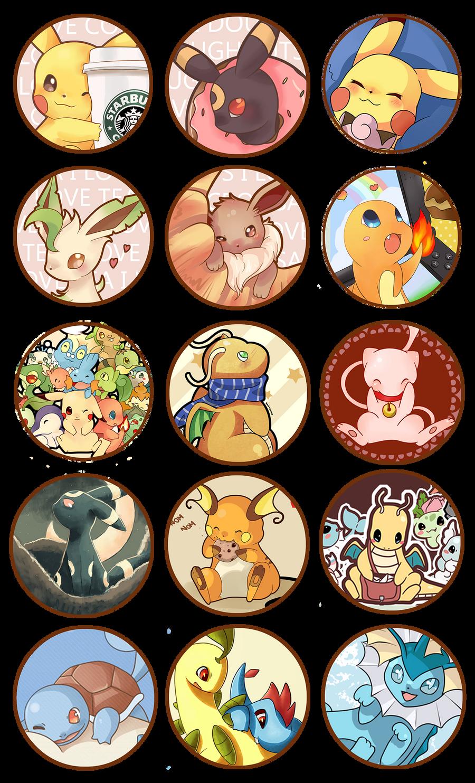Pokemon Buttons FREE by SeviYummy
