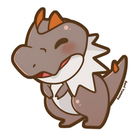 COMMISSION: Chibi Tyrunt by SeviYummy