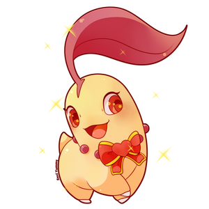 Shiny Chikorita