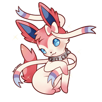 COMMISSION: Chibi Sylveon by SeviYummy