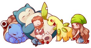 COMMISSION: Pokemon Team 2 by SeviYummy