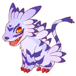 COMMISSION: Chibi Garurumon