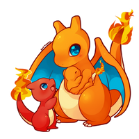 COMMISSION: Fire Family by SeviYummy