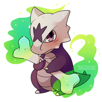 COMMISSION: Chibi Alolan Marowak by SeviYummy