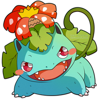 ChibiDex: #003 Venusaur by SeviYummy