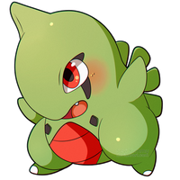 ChibiDex: #246 Larvitar by SeviYummy