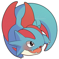 ChibiDex: #373 Salamence by SeviYummy