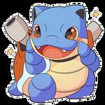 ChibiDex: #009 Blastoise
