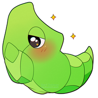 ChibiDex: #011 Metapod by SeviYummy